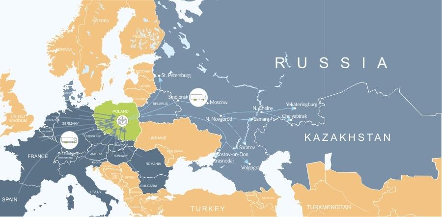 Доставка из Европы в Россию, Сборные грузы